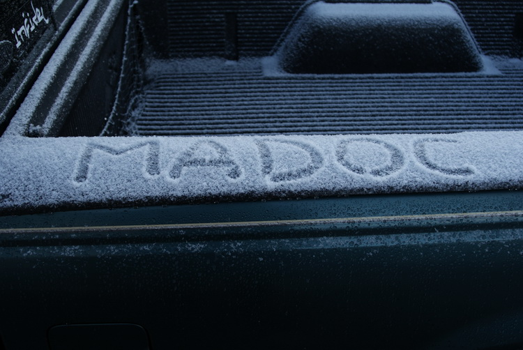 Snow. On My Truck.