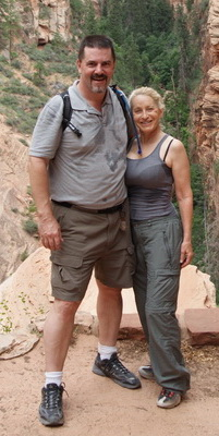 On the Angels Landing Trail