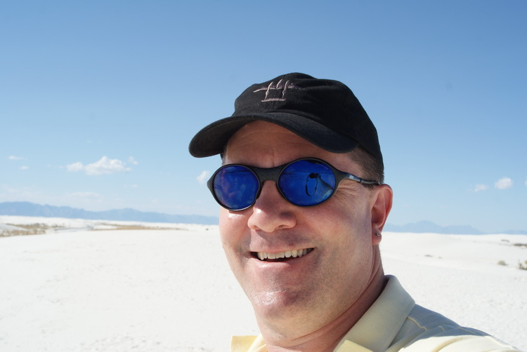 A Selfie at White Sands
