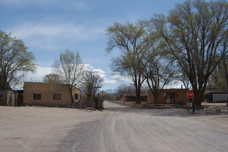 A spectacular native American village