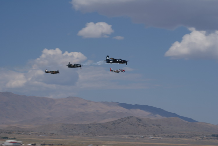 Warbirds aloft