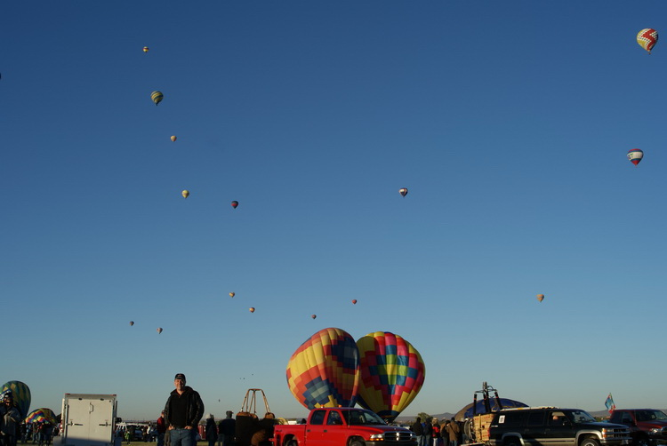 Up early for another Balloon Fiesta