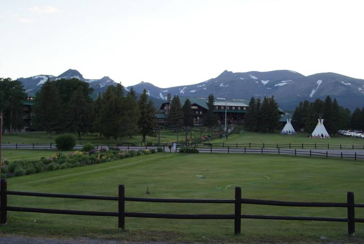The Glacier National Park Lodge