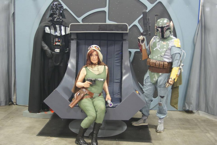 Mara Jade on the Throne