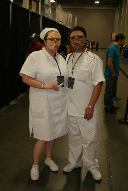 Twilight Zone - Eye of the Beholder cosplay