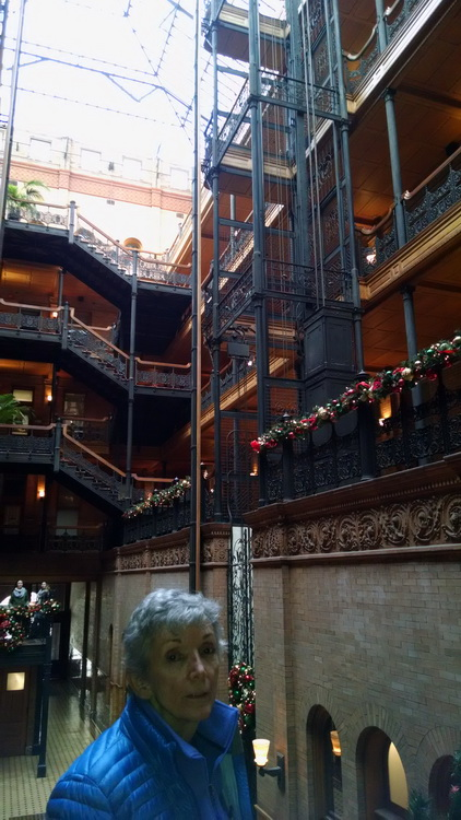 Mom and the Bradbury Building
