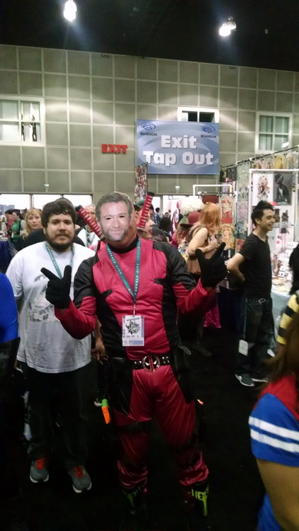 Deadpool at WonderCon Los Angeles