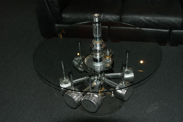 An engine table