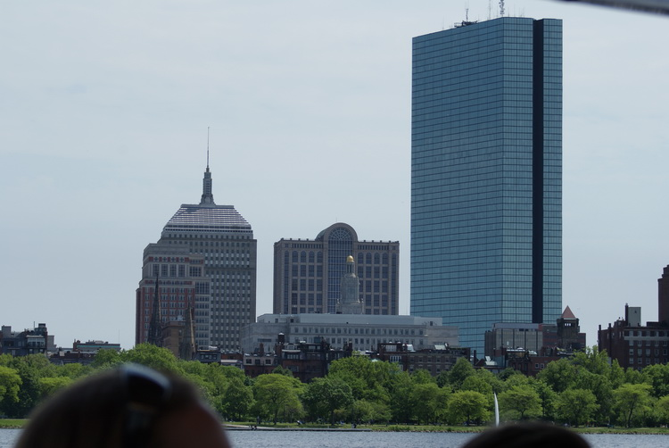 Boston skyline downtown