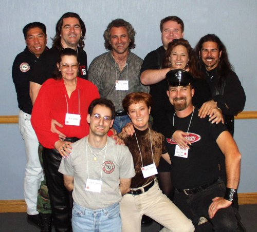 The California Gang at the Leather Leadership Conference
