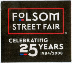 Folsom 08 Entrance Sticker