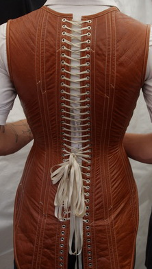 Mr. Corset from the rear