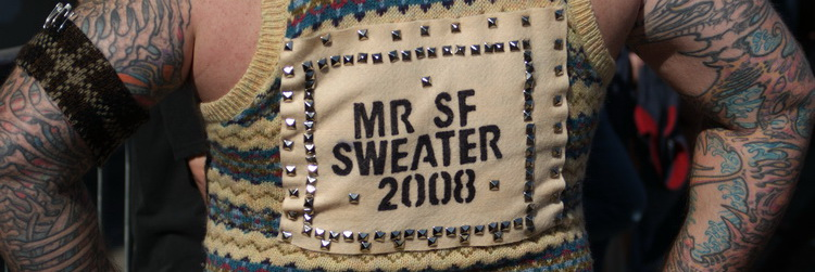 Mr. SF Sweater 2008