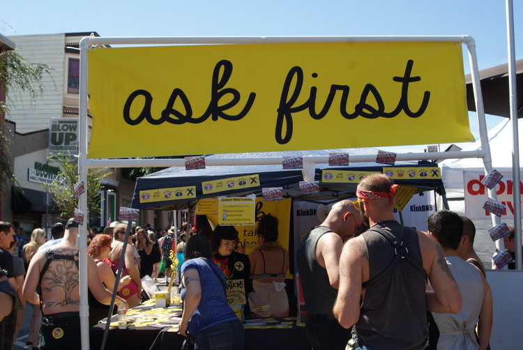 """Ask First"" Shitheads"