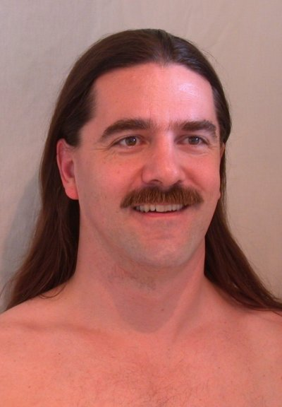 Longhair and a moustache