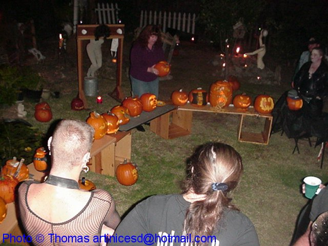 The Great Pumpkin Carving Contest Lineup