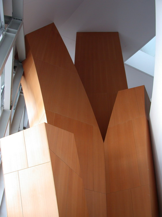 Gehry wood