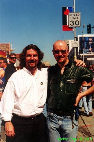 Me and my friend, Andy, at Folsom 99