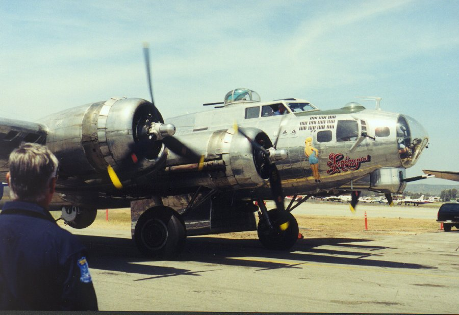 The Sentimental Journey a Boeing B-17G Flying Fortress